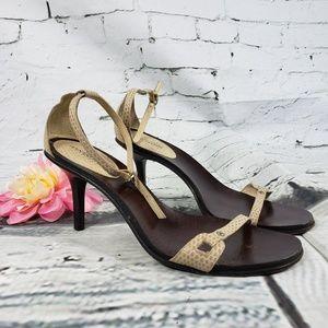 Ann Taylor Ankle Strap Heel Size 7